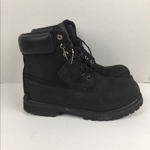 345f0f40127 {Timberland} Black construction boots